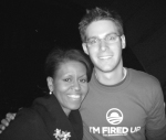 Greg Sandford - With Michelle Obama